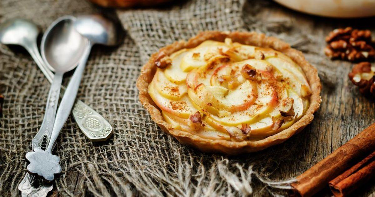 Фото Пирог с яблоками и медом