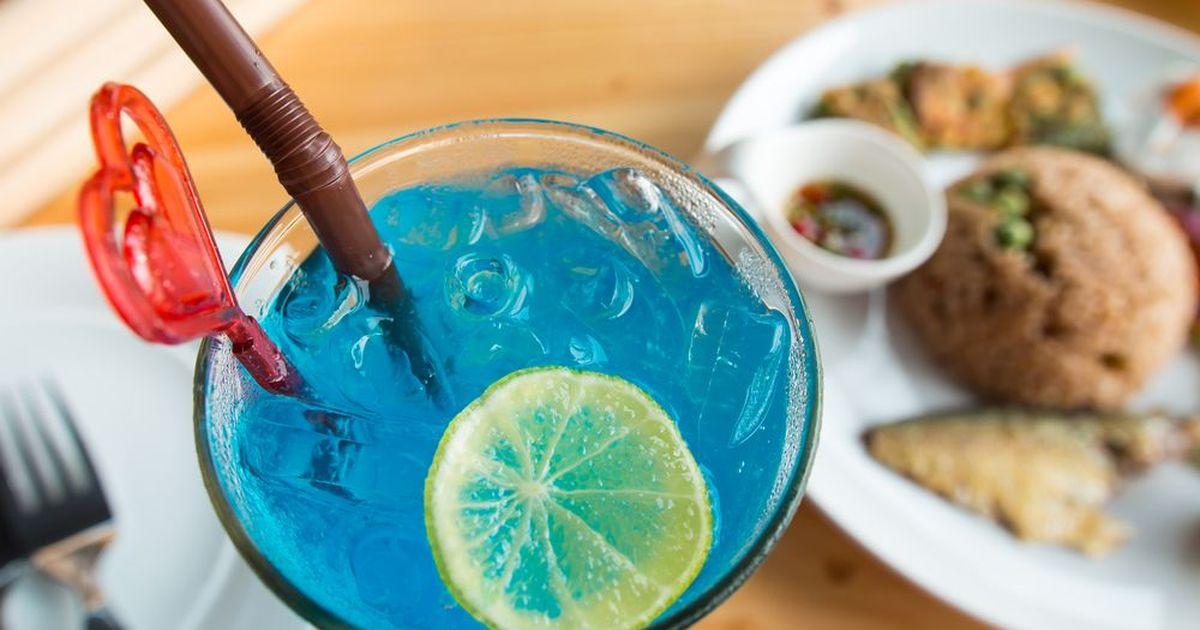 """Фото Напиток """"Голубые Гавайи"""""""