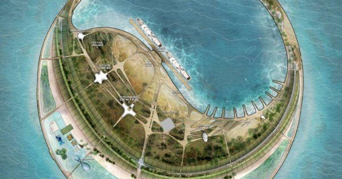 Фото Жилье и гостиницы: как будет выглядеть китайский экоостров