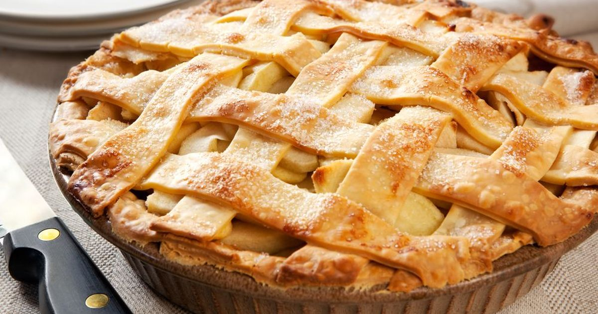 Фото Американский пирог с карамелью