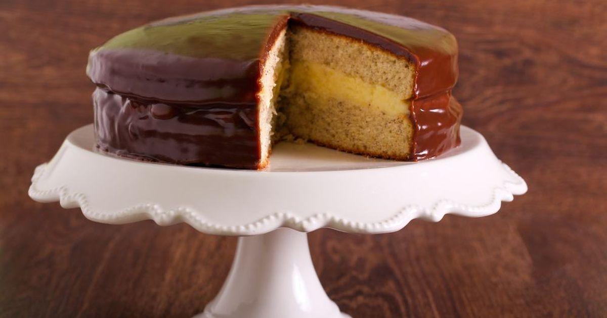 Фото Бостонский кремовый торт