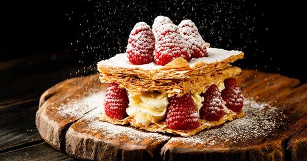 Фото Мильфей с ягодами