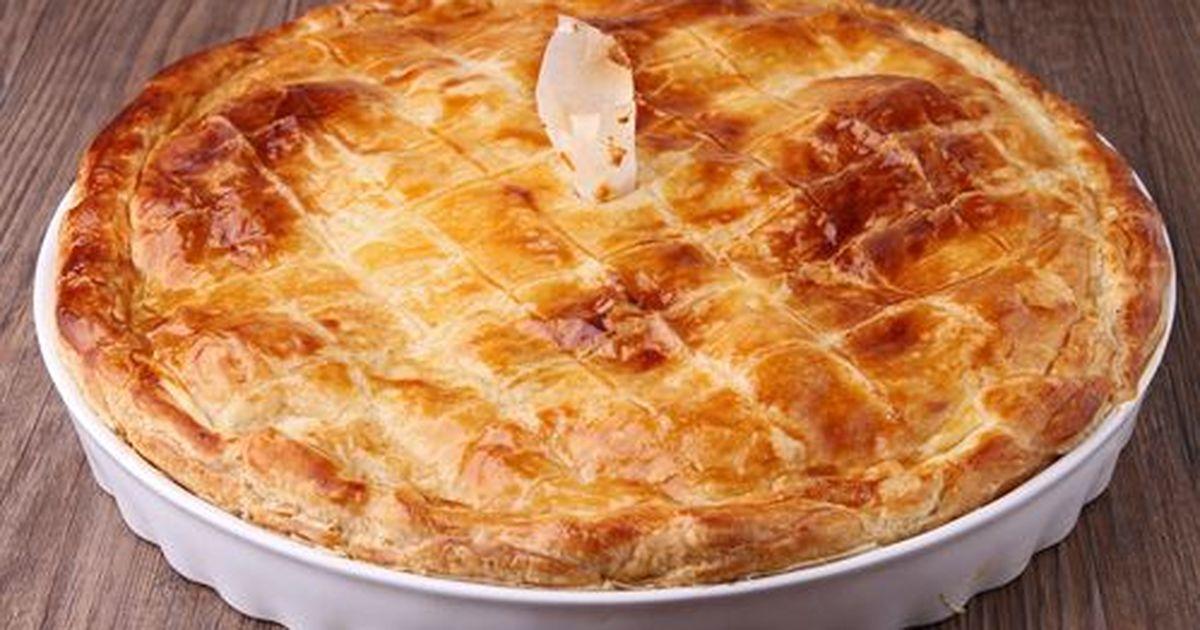 Фото Картофельный пирог с сыром