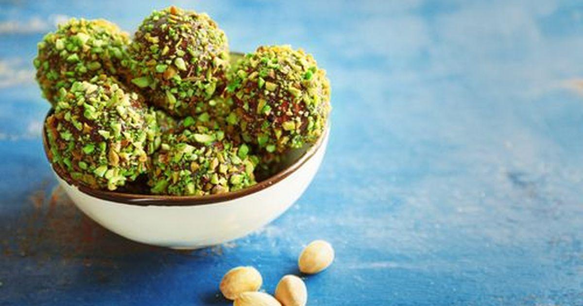 Фото Домашние фисташковые конфеты