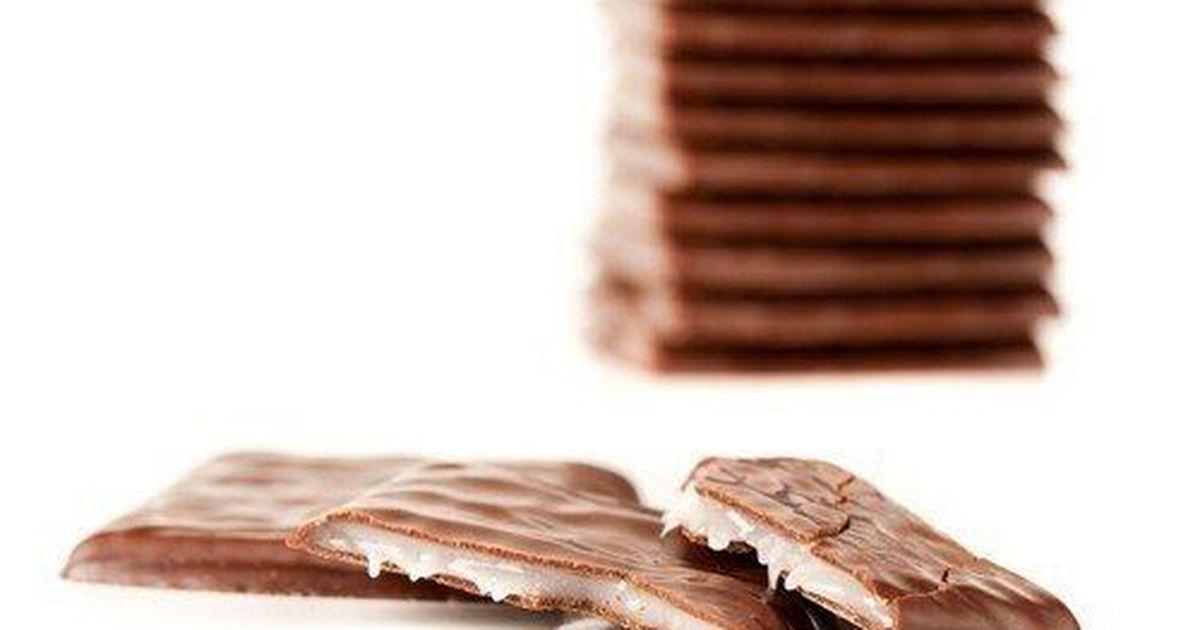 Фото Кокосовые конфеты в шоколаде