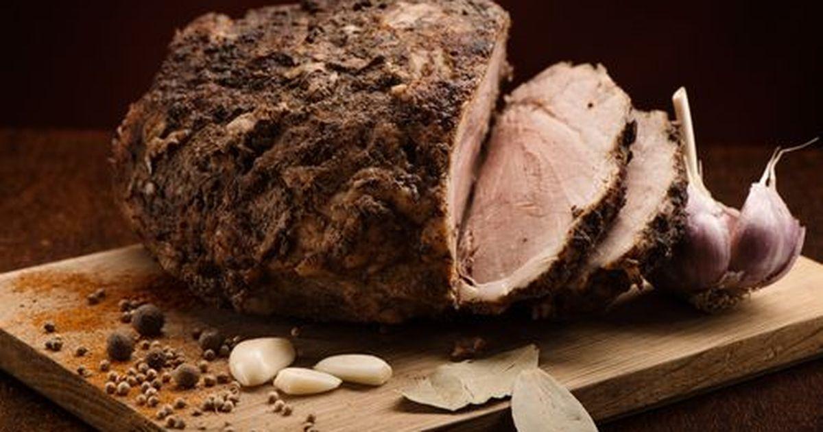 Фото Самый лучший способ приготовить вкусное домашнее мясо. Буженина получается очень сочной. Хорошая альтернатива колбасе для бутербродов.