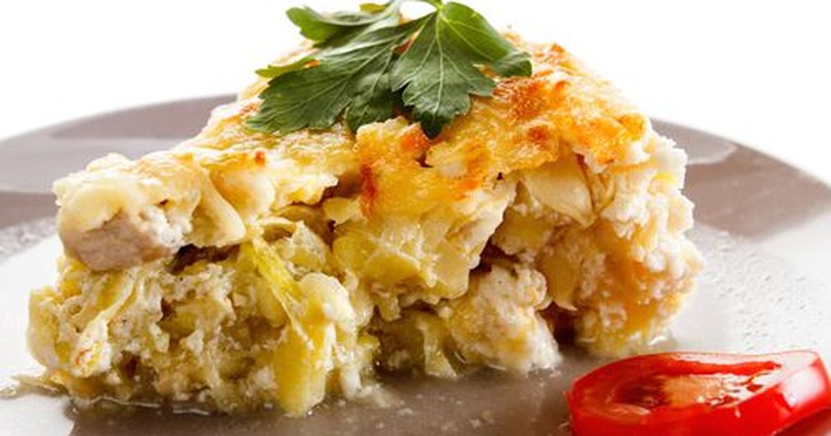 Фото Пышная, румяная и очень сочная овощная запеканка. Идеальная закуска!