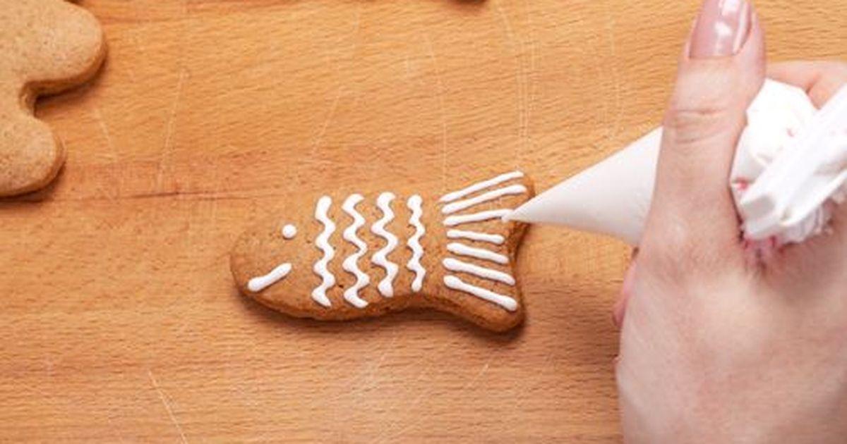 Фото Как украсить печенья глазурью