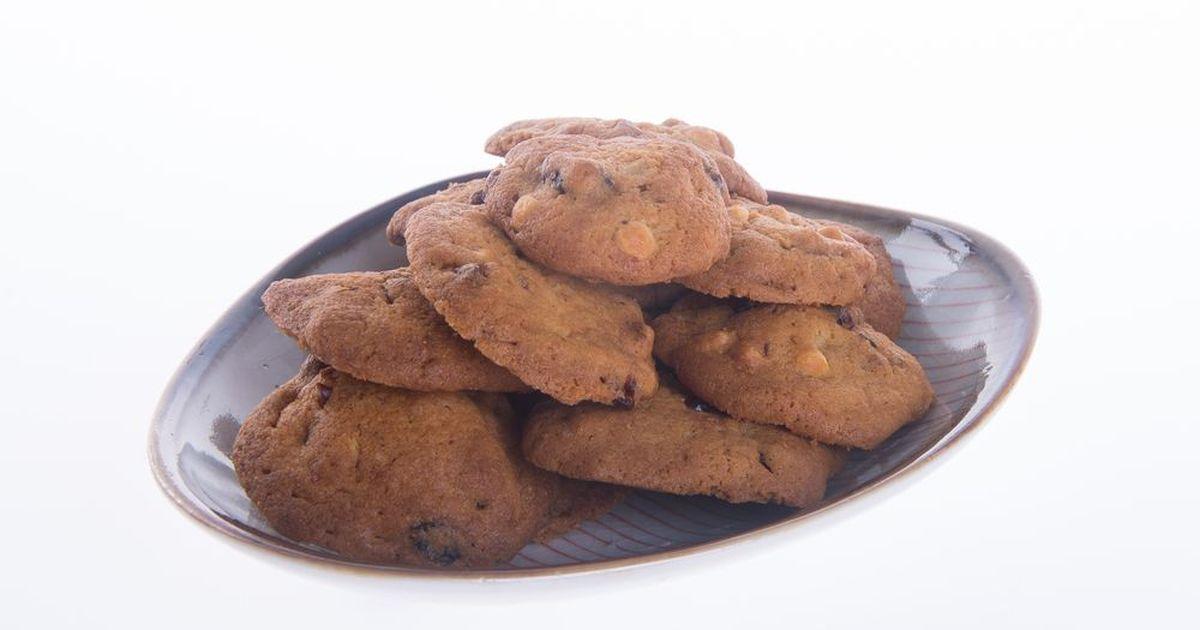Фото Невероятно вкусное шоколадное печенье с имбирем