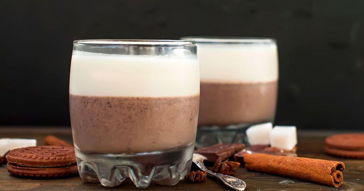Фото Два бокала шоколадного удовльствия для вас и вашего любимого. Ну или просто два бокала для себя.
