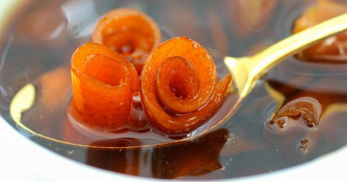 Фото Варенье из апельсиновых корок.