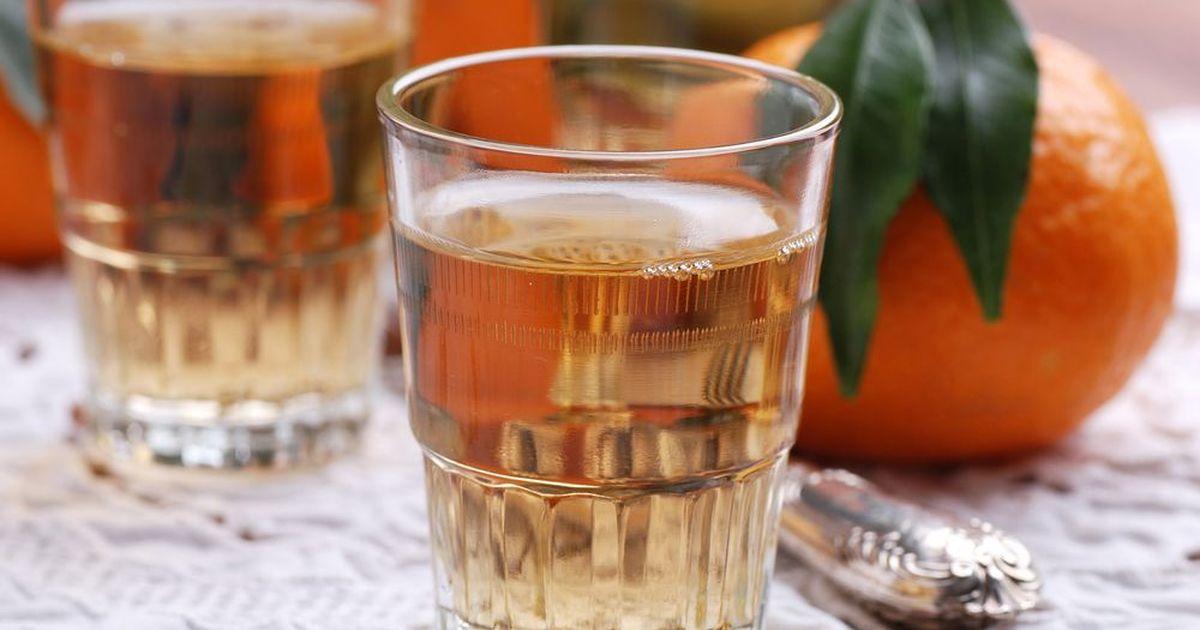 Фото Вкусный мандариновый ликер