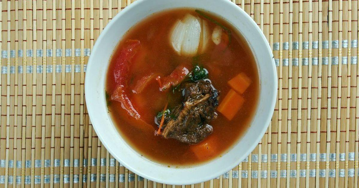 Фото Этот суп пришел к нам с Востока. Он прост в приготовлении и порадует вас и ваших близких своим насыщенным ярким вкусом