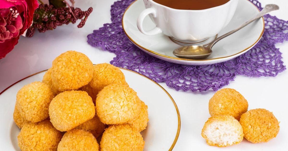 Фото Вкусное кокосовое печенье