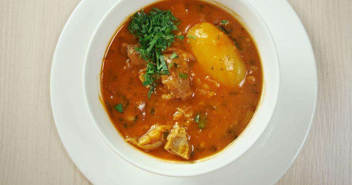 Фото Шикарный суп. А если ещё и в холодную погоду, то его шикарность возрастает многократно.