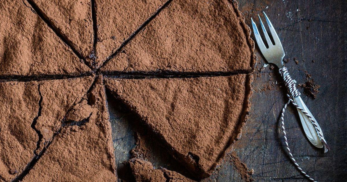 Фото Мексиканский шоколадный тарт