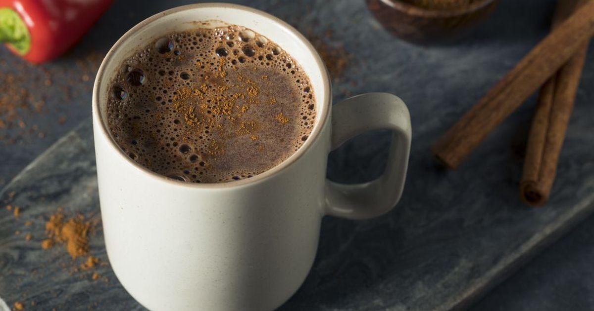 Фото Горячий шоколад с острым перцем