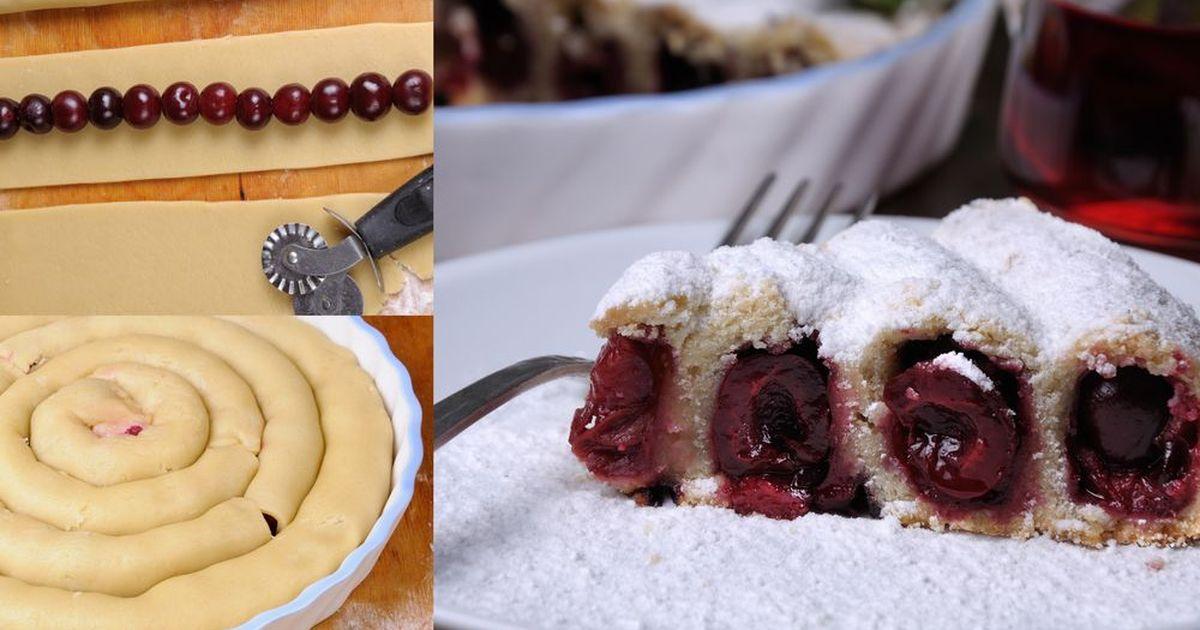 Фото Красивый пирог не всегда сложная задача! Это стоит попробовать!