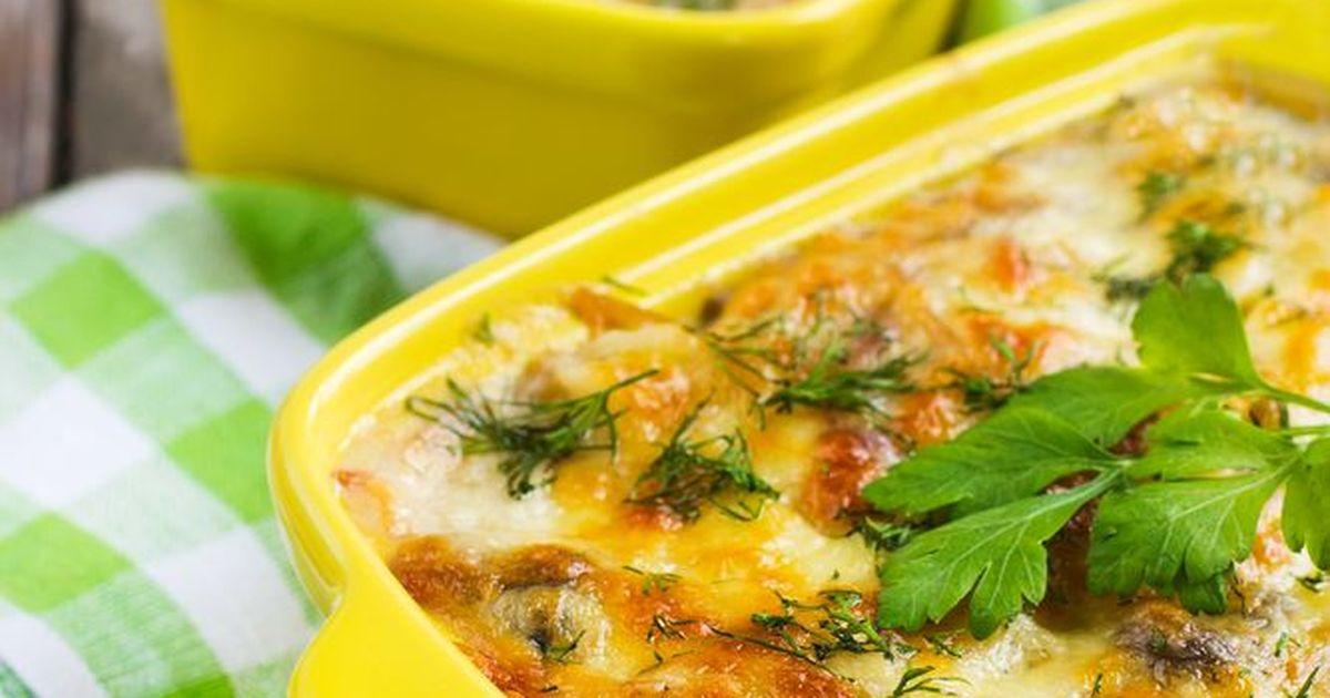 Фото Запеканка из рыбы с картофелем и сыром — простое и сытное блюдо для семейного обеда или ужина. Порадуйте себя и близких.