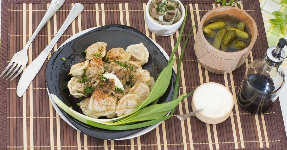 Фото Пельмени с рисом и грибами