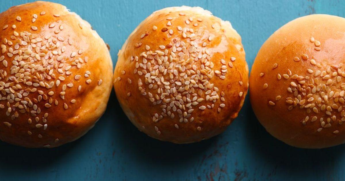 Фото Рецепт домашних булочек для гамбургеров