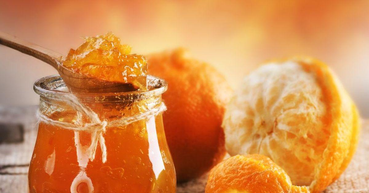 Фото Апельсиновый джем подойдёт как начинка для пирогов, так и в качестве маринада для мяса.