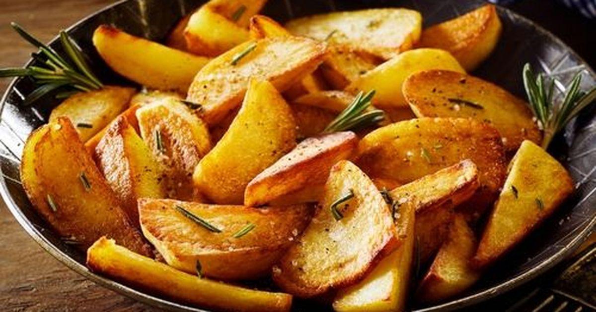 Фото Правила вкусной жареной картошечки