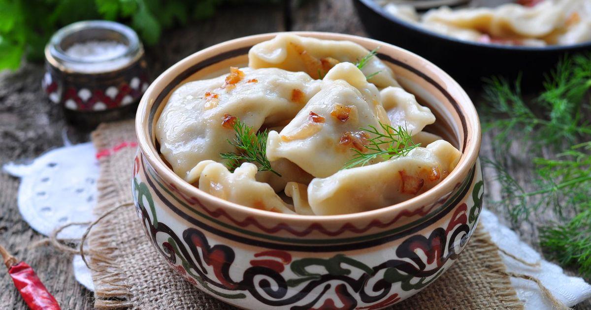 Фото Вареники с картошкой и грибами