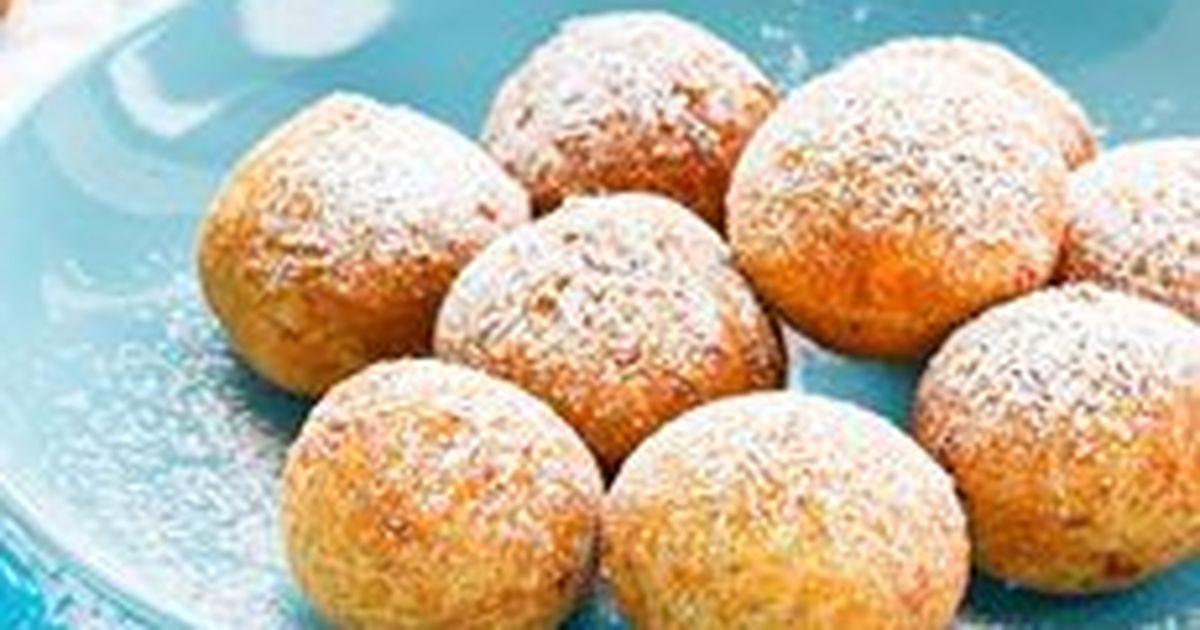 Фото Творожные пончики на скорую руку