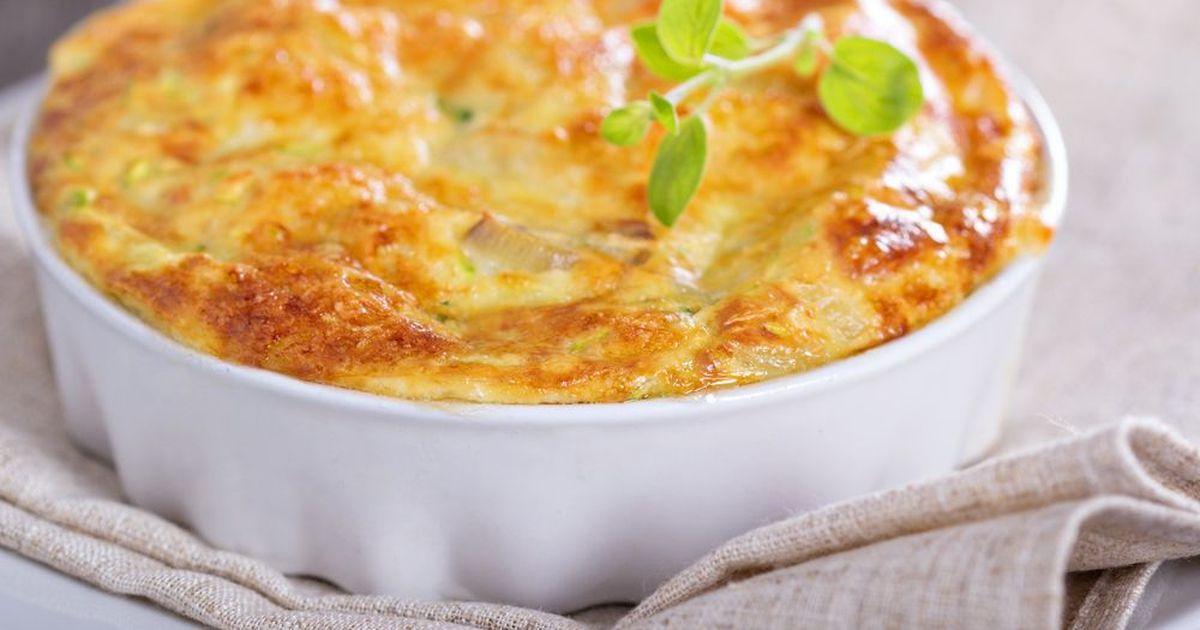Фото Пирог с сыром и луком