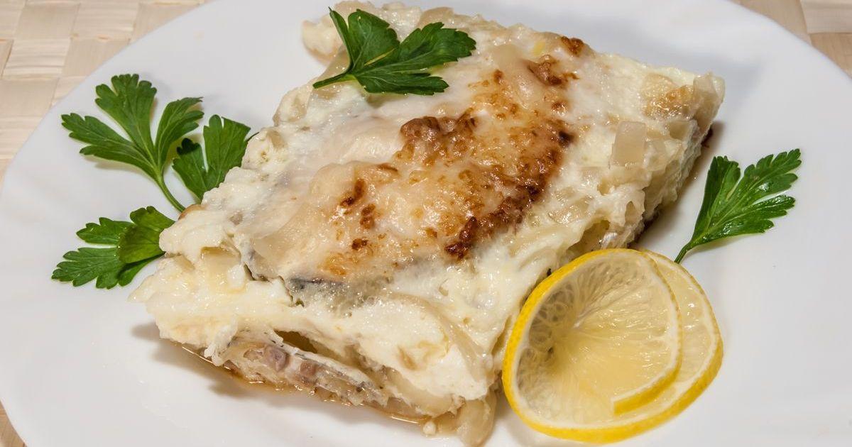 Фото Рыба, запеченная с сыром