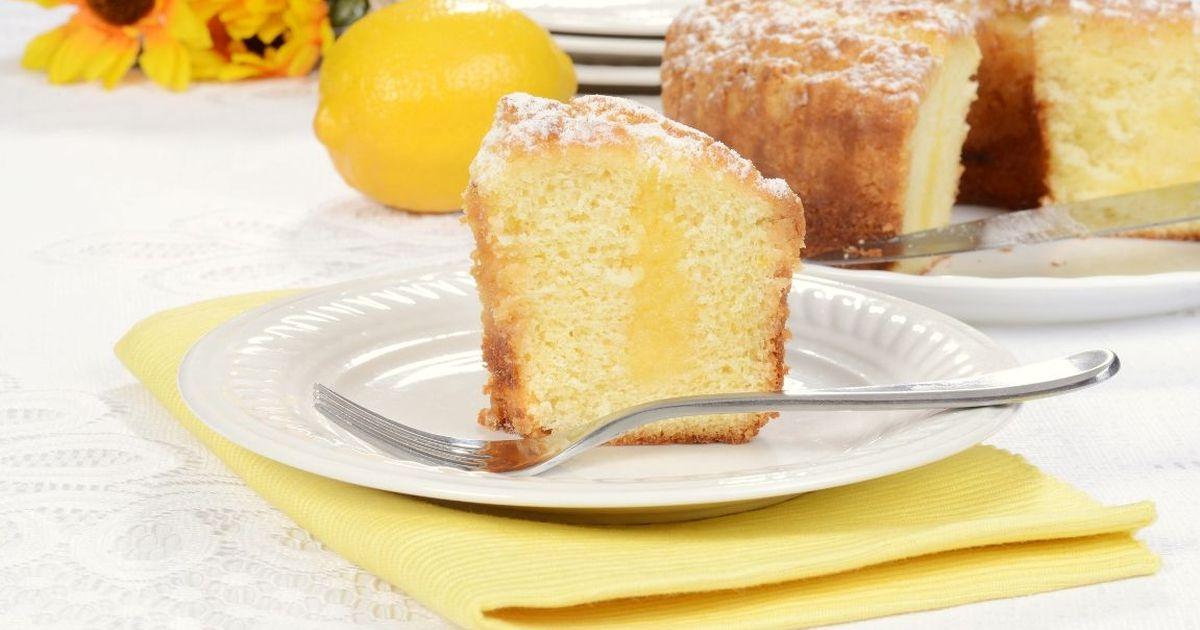 Фото Ароматный пирог с лимоном