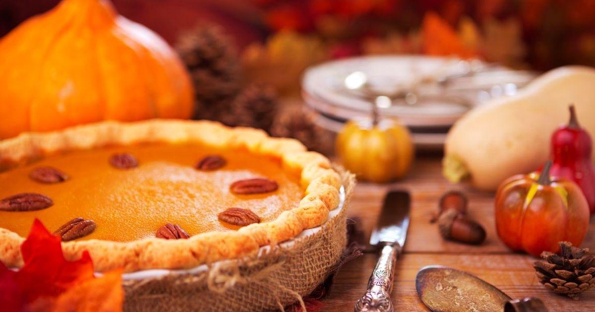 Фото Вкуснейший американский тыквенный пирог