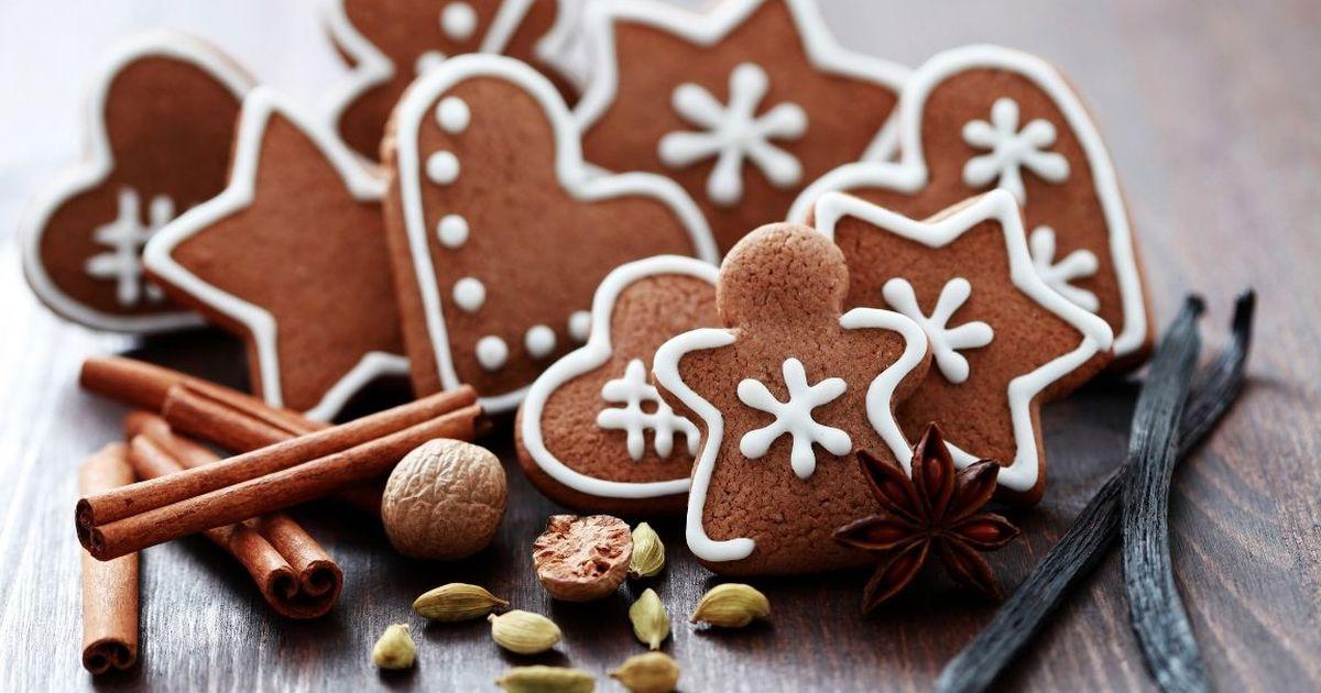 Фото Ароматное шоколадно-имбирное печенье