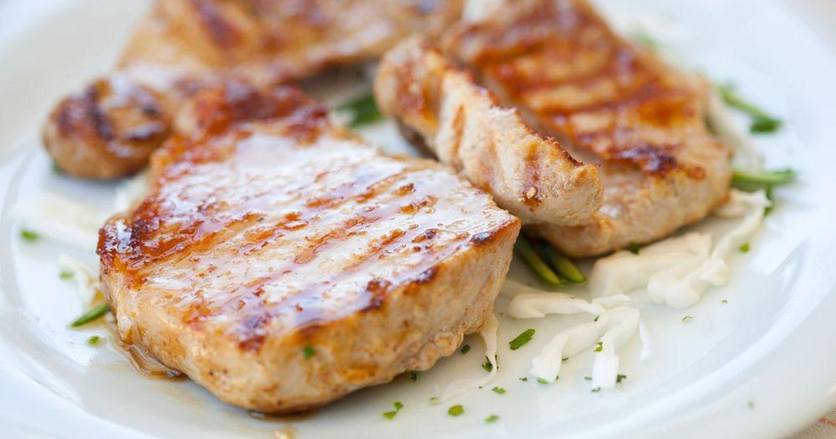 Фото Экспресс-мясо в маринаде из киви
