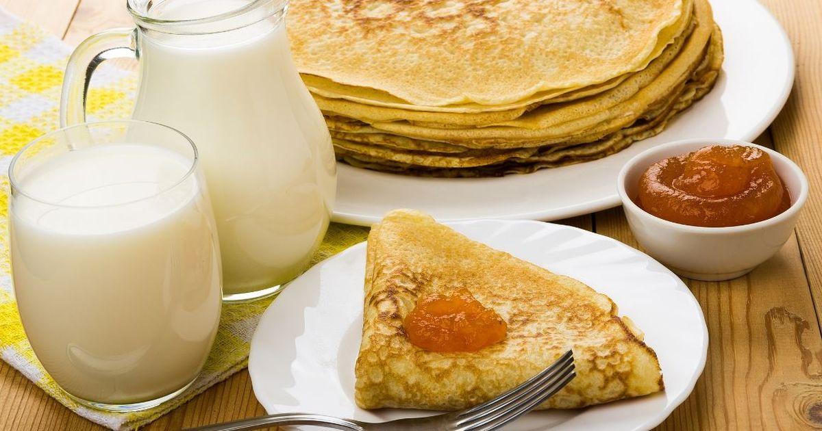 Фото Заварные блины на молоке