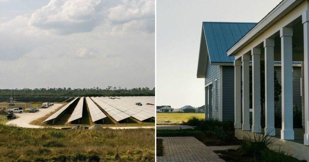 Фото Бабкок-ранч: город, полностью функционирующий на солнечной энергии