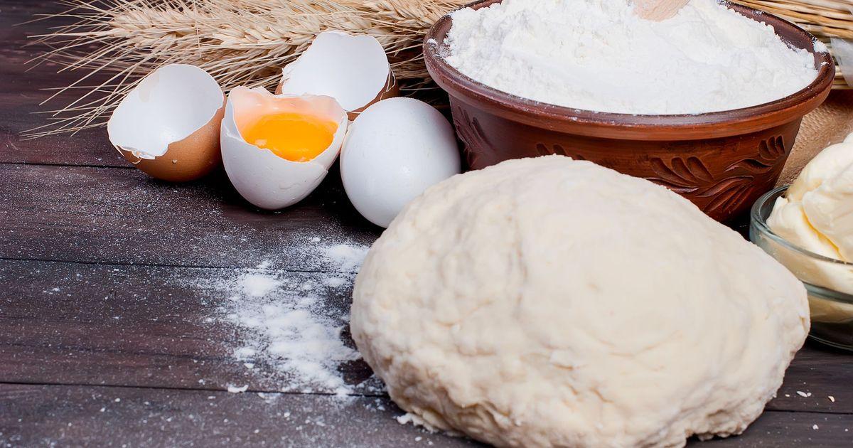 Фото Универсальное тесто для пасхального кулича