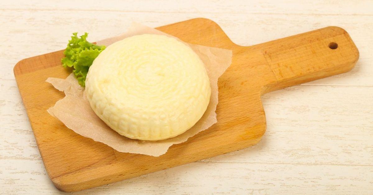Фото Домашний сыр сулугуни