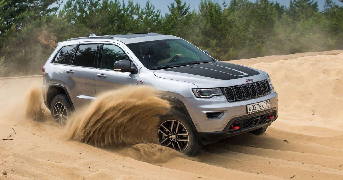 Фото Альтер-эго богатого и знаменитого. Тест-драйв Jeep Grand Cherokee Trailhawk