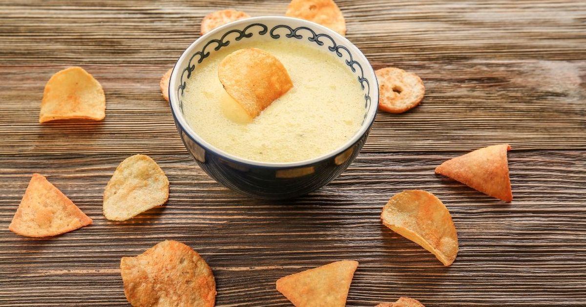 Фото Домашний сырный соус