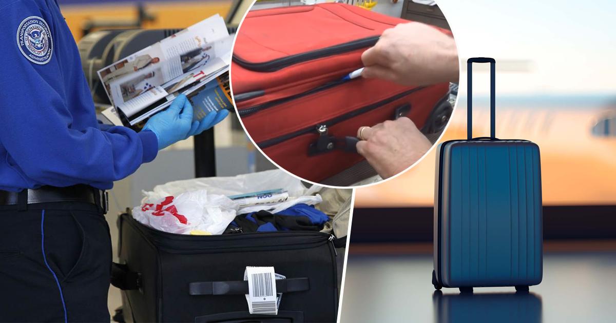 Фото Как в аэропортах с легкостью вскрывают чемоданы и как защитить багаж