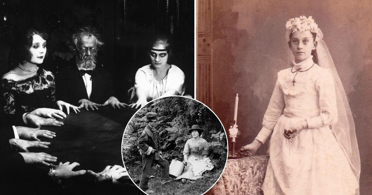 Фото Спиритизм и таксидермия: странные увлечения Викторианской эпохи