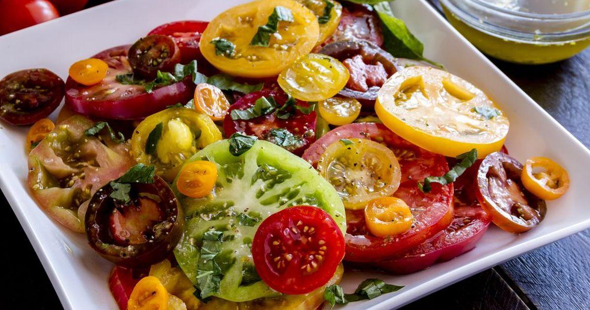 Фото Маринованные помидоры по-итальянски за 30 минут