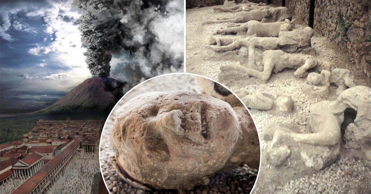 Фото Застывшие во времени. Жуткая выставка тел жертв извержения вулкана в Помпеях