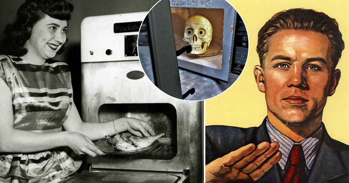 Фото Почему в СССР долгое время были запрещены микроволновые печки