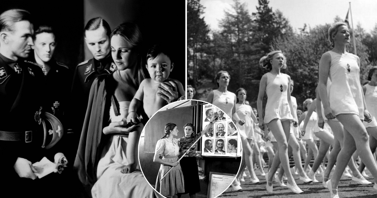 Фото Идеальная женщина, или Как в Германии готовили будущих жен для нацистов