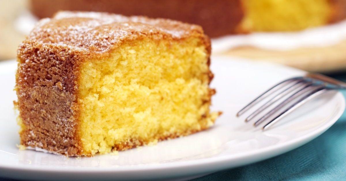 Фото Нежнейший лимонно-ванильный кекс