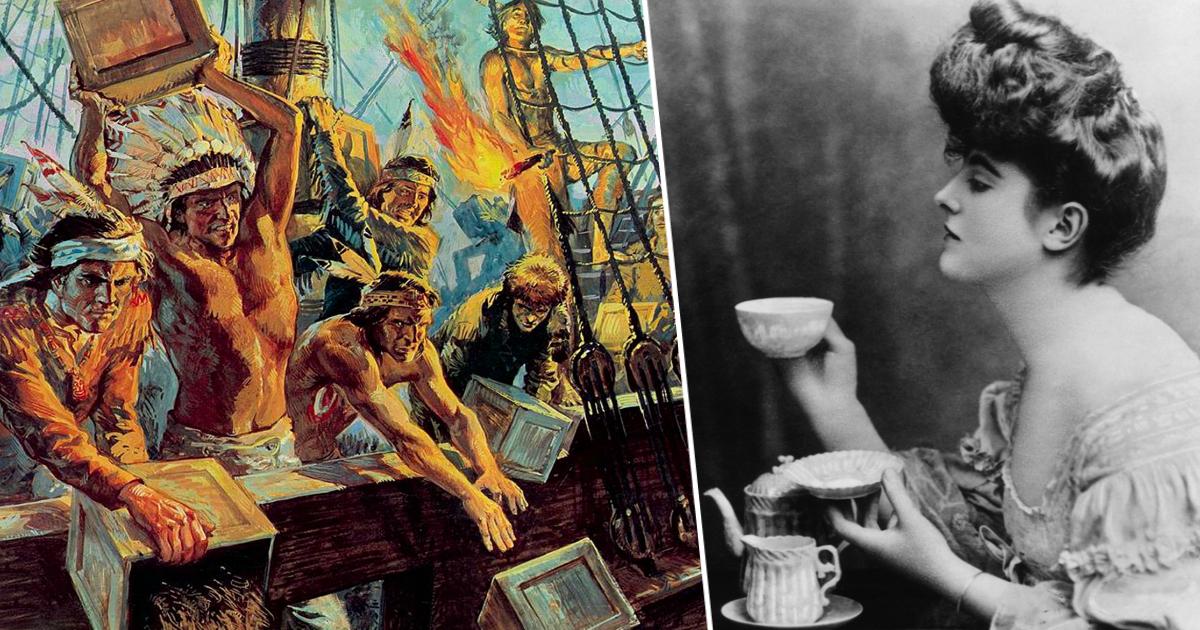 Фото Бостонское чаепитие: как чашка чая изменила ход истории