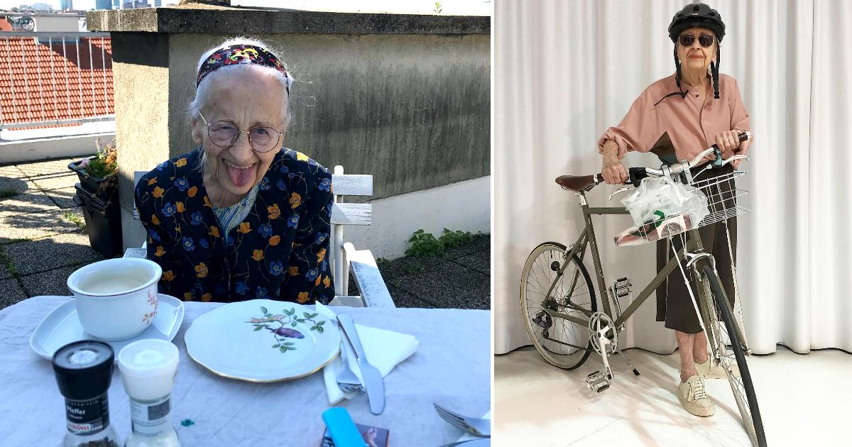Фото Никогда не поздно: как Эрнестине Штольберг удалось стать моделью в 95 лет